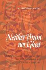 Neither Brain nor Ghost – A Nondualist Alternative  to the Mind–Brain Identity Theory
