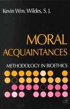 Moral Acquaintances