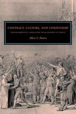 Contract, Culture, and Citizenship