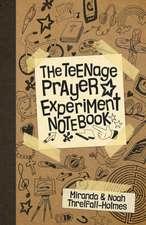 Teenage Prayer Experiment Notebook