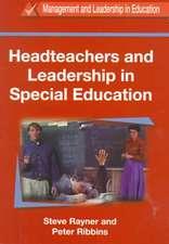 Headteachers and Leadership in Education