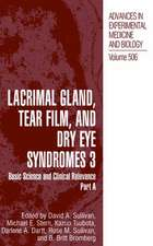 Lacrimal Gland, Tear Film, and Dry Eye Syndromes 3: Basic Science and Clinical Relevance Part B