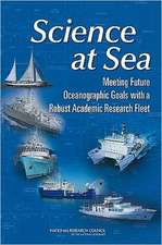 Science at Sea:  Meeting Future Oceanographic Goals with a Robust Academic Research Fleet