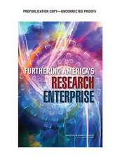 Furthering America's Research Enterprise
