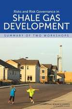 Risks and Risk Governance in Shale Gas Development:  Summary of Two Workshops