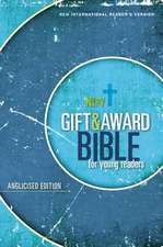 NIrV, Gift and Award Bible for Young Readers, Anglicised Edition, Softcover, Blue