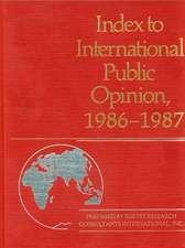 Index to International Public Opinion, 1986-1987
