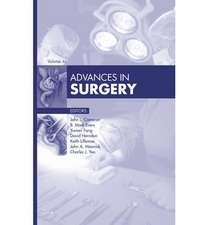 Advances in Surgery, 2012