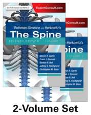 Rothman-Simeone and Herkowitz's The Spine, 2 Vol Set