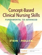 Concept-Based Clinical Nursing Skills