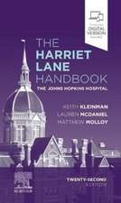 The Harriet Lane Handbook: The Johns Hopkins Hospital