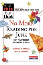 No More Reading for Junk