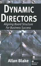 Dynamic Directors: Aligning Board Structure for Business Success
