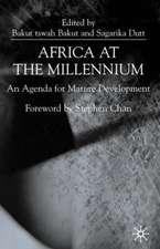 Africa at the Millenium: An Agenda for Mature Development