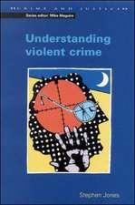 UNDERSTANDING VIOLENT CRIME