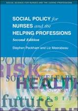 Social Policy for Nurses and the Helping Professions