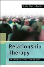 Relationship Therapy: A Therapist's Tale