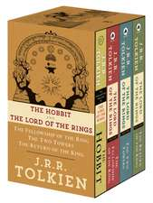 J.R.R. Tolkien 4-Book Boxed Set:  The Hobbit, the Fellowship of the Ring, the Two Towers, the Retu