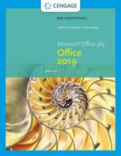 New Perspectives Microsoft Office 365 & Office 2019 Advanced