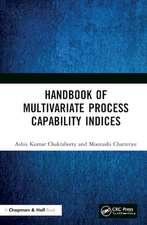 Chakraborty, A: Handbook of Multivariate Process Capability