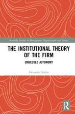 Institutional Theory of the Firm