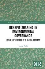 Benefit-sharing in Environmental Governance (Open Access)