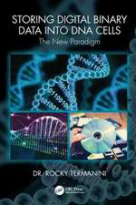 Storing Digital Binary Data into DNA Cells
