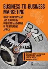 Business-to-Business Marketing - An African Perspective