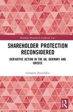 Shareholder Protection Reconsidered