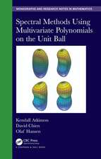 Spectral Methods Using Multivariate Polynomials On The Unit Ball