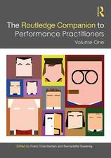 Routledge Companion to Performance Practitioners