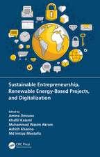 Sustainable Entrepreneurship, Renewable Energy-Based Projects, and Digitalization