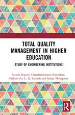Begum, S: Total Quality Management in Higher Education