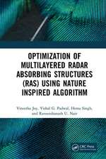 Optimization of Multilayered Radar Absorbing Structures (RAS) using Nature Inspired Algorithm