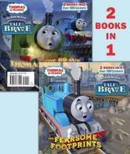 The Fearsome Footprints/Thomas the Brave [With Sticker(s)]