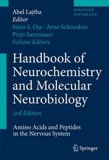 Handbook of Neurochemistry and Molecular Neurobiology: Amino Acids and Peptides in the Nervous System