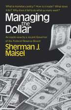 Maisel ∗managing∗ The Dollar