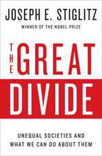 The Great Divide – Unequal Societies and What We Can Do About Them