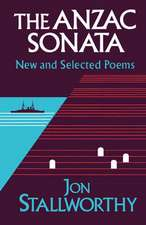 Anzac Sonata – New and Selected Poems