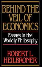 Behind the Veil of Economics – Essays in the Worldly Philosophy