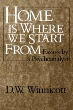 Home Is Where We Start From – Essays by a psychoanalyst (Paper)