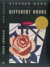 Different Hours – Poems