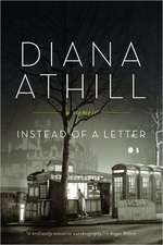 Instead of a Letter – A Memoir