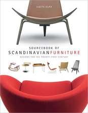 Sourcebook of Scandinavian Furniture – Designs for  the Twenty–First Century