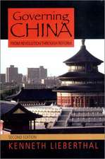 Governing China – From Revolution to Reform 2e