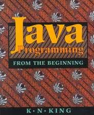 Java Programming – From the Beginning