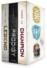 The Legend Trilogy Boxed Set: Legend/Prodigy/Champion