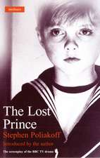 The Lost Prince: Screenplay