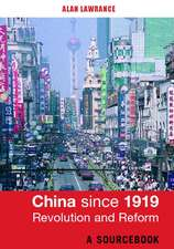 China since 1919 - Revolution and Reform