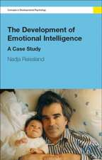 The Development of Emotional Intelligence:  A Case Study